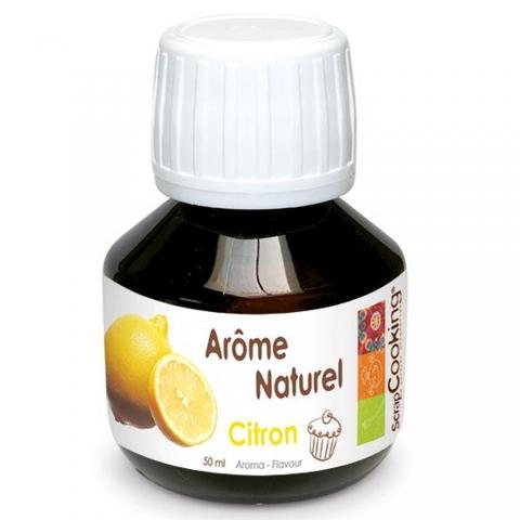 Arôme naturel Citron SCRAPCOOKING