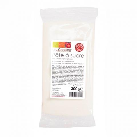 Pâte à sucre 300gr Blanche