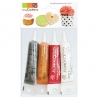 Lot 4 colorants en gel SCRAPCOOKING