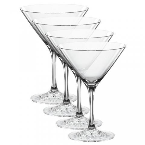 Coupes Martini Cocktails cristal Vivendi x4 Spiegelau