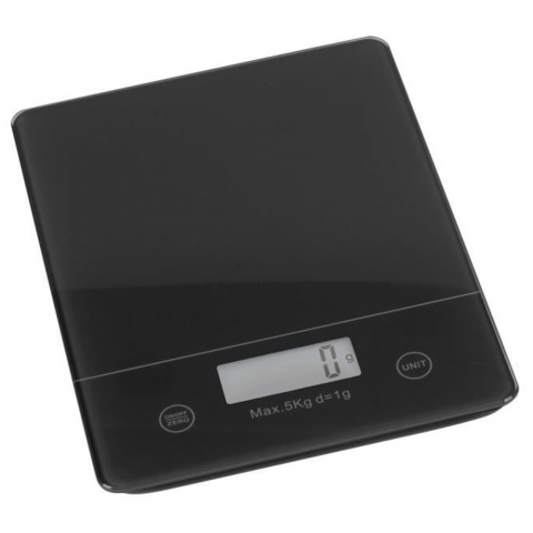 Balance électronique 5 kg / 1 g Noire Trend'Up 44022