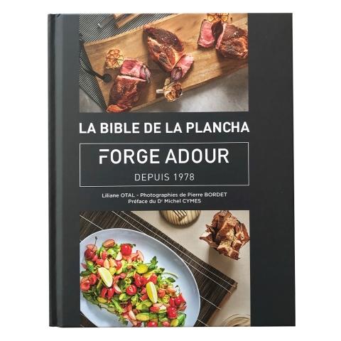 """Livre de cuisine """"La Bible de la Plancha"""" Forge Adour"""