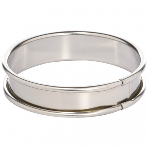 Cercle a tarte inox 10x2 cm LACOR