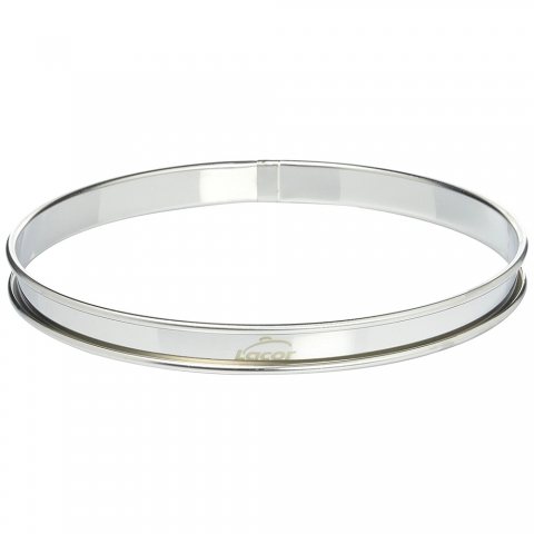 Cercle à tarte inox 20 x 2 cm LACOR