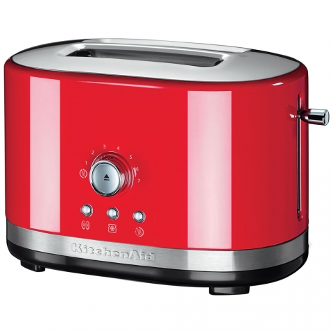 Grille-pain rétro 2T Rouge Empire Kitchenaid 5KMT2116EER