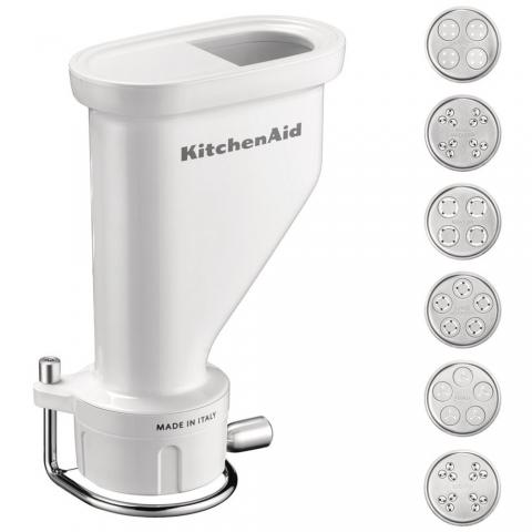 Accessoires presse à pâtes 6 grilles robot Kitchenaid 5KSMPEXTA