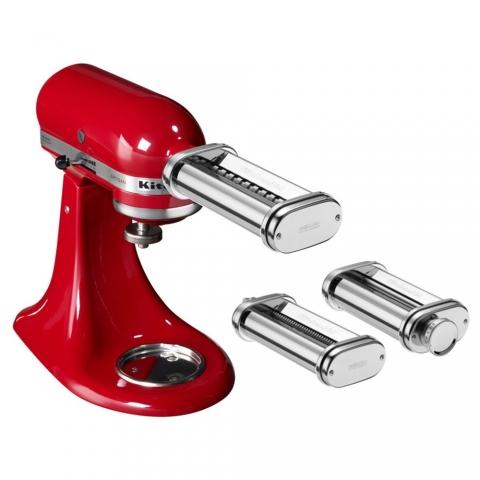 Accessoires machine à pâtes 3 rouleaux robot Kitchenaid 5KSMPRA