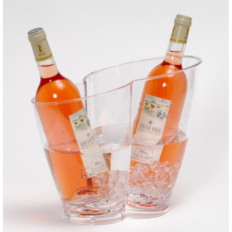 Seau à champagne Vino Duo