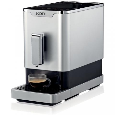 Expresso broyeur café Slimissimo Silver Scott 20200