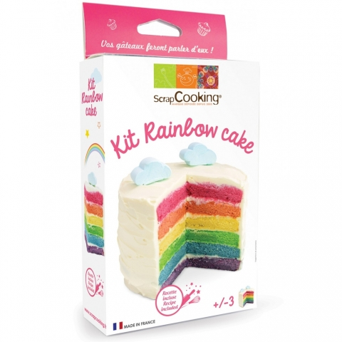 Kit Rainbow Cake Scrapcooking 3969