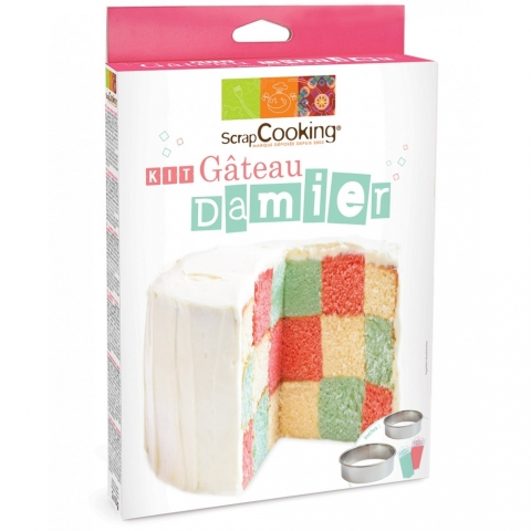 Kit gâteau Damier Scrapcooking 3945