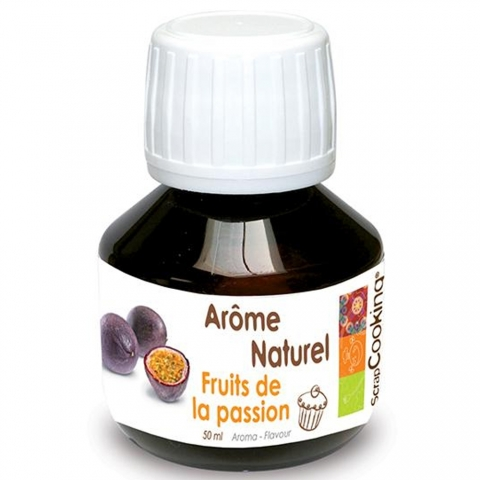 Arôme naturel liquide Fruit de la Passion 50 ml Scrapcooking 4427