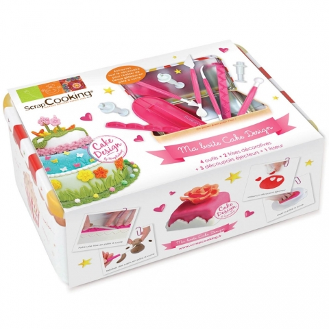 Boîte nécessaire Cake Design Scrapcooking 3983