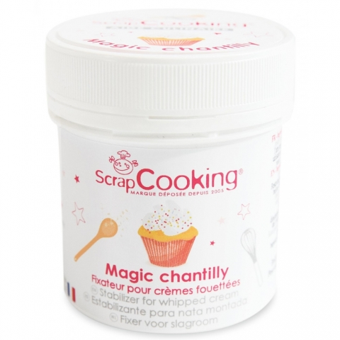 Pot de magic chantilly Scrapcooking 4492