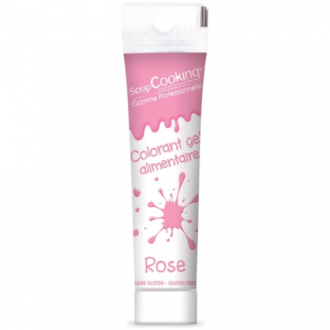Gel colorant rose 20 g Scrapcooking 7135
