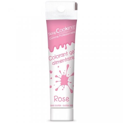 Gel colorant rose 20 g Scrapcooking 7135