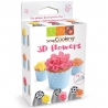 Kit douilles 3D flowers Scrapcooking 1821