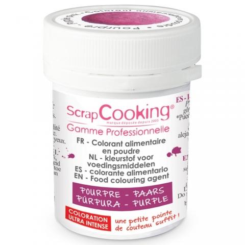 Colorant alimentaire en poudre pourpre Scrapcooking 4033
