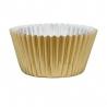 Caissette cupcake doré x 45