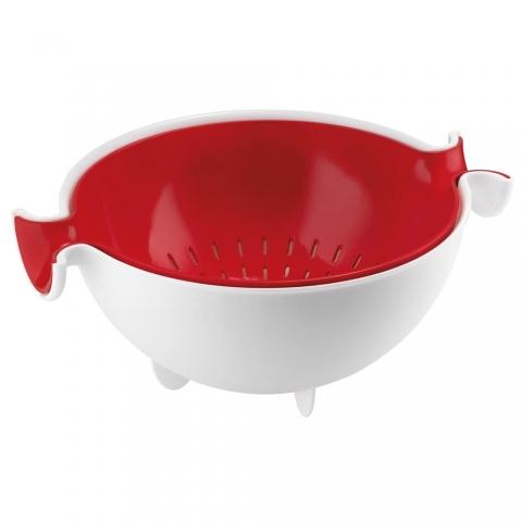 Passoire Spin&Drain Guzzini rouge 29250055