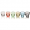 Lot 6 verres Tiffany Guzzini 22570252