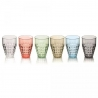 Lot 6 verres hauts Tiffany Guzzini 22570352
