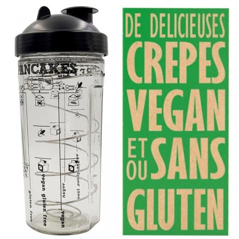 Shaker à crêpes vegan Miam Vegan Cookut
