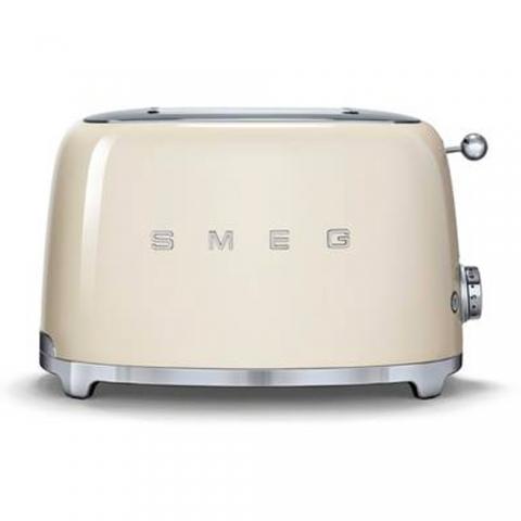 Grille pain 2T crème SMEG TSF01CREU