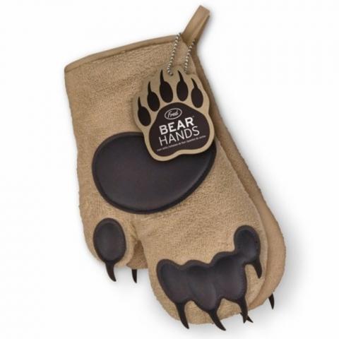 Gants anti-chaleur pattes d'ours Fred Kitchencraft