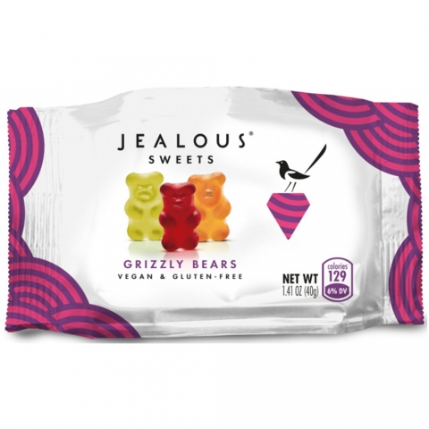 Bonbons vegan Jealous Sweet oursons