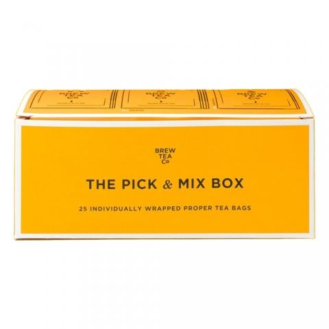 Coffret découverte The Pick & Mix Box Brew Tea&Co