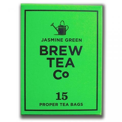 Thé sachets pyramides Jasmine Green Brew Tea&Co