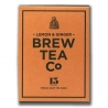 Thé sachets pyramides Lemon Ginger Brew Tea&Co