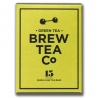 Thé sachets pyramides Green Tea Brew Tea&Co