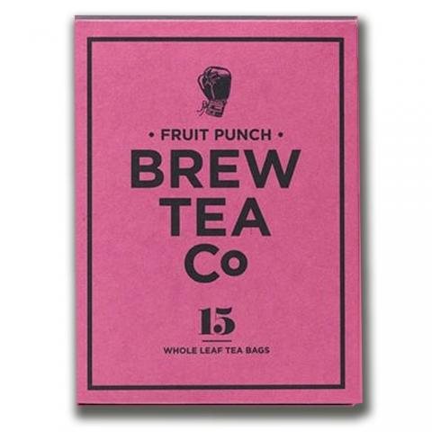 Thé sachets pyramides Fruit Punch Brew Tea&Co