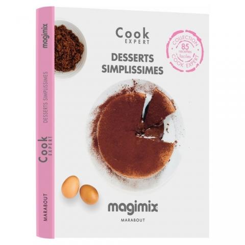 Livre Cook Desserts Simplissimes Magimix