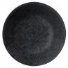 Assiette plate 27 CM Vesuvio noir