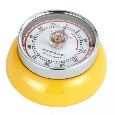 Minuteur Speed jaune Zassenhaus 072341