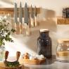 Barre aimentée bois Kitchencraft NERACK
