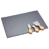 Set à fromage ardoise Kitchencraft ARTCHEESESLATE
