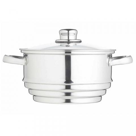 Cuit-vapeur universel inox + couvercle Kitchencraft KCCVUNI