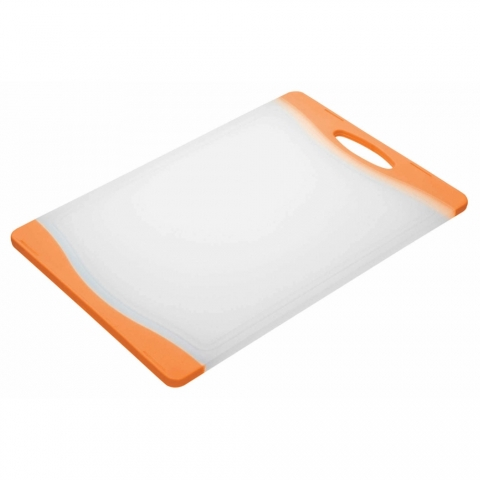 Planche à découper orange ColourWorks Kitchencraft CWBOARD350OR