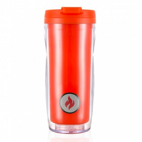 Smartmug color LES ARTISTES orange mat