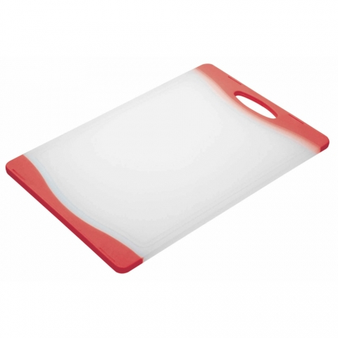 Planche à découper rouge ColourWorks Kitchencraft CWBOARD350RED
