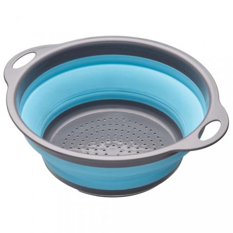 Passoire rétractable bleu ColourWorks Kitchencraft CWGCOLBLU