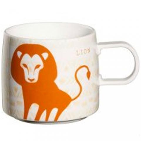 Mug star signs Lion ASA