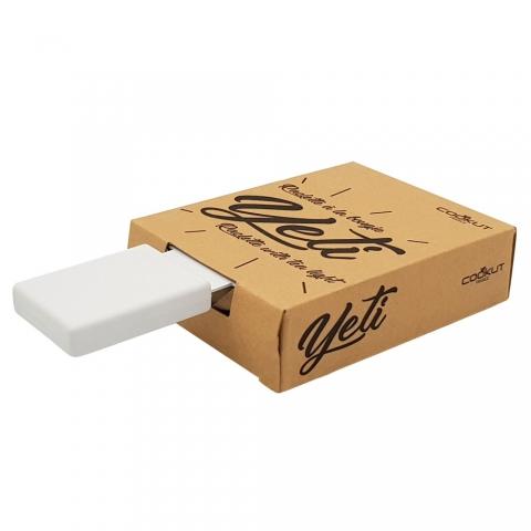 Raclette à la bougie Yeti blanc Cookut YETIBC