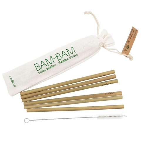 6 Pailles réutilisables Bam Bam Cookut BAM20