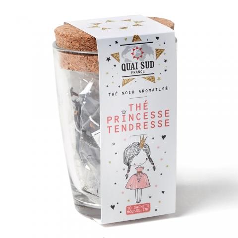 Thé noir Princesse Tendresse en infusettes Quai Sud 1TPRTE10TT