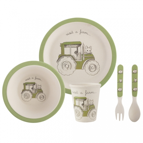 "Set enfant ""Visit a Farm"" tracteur Creativetops 5178967"